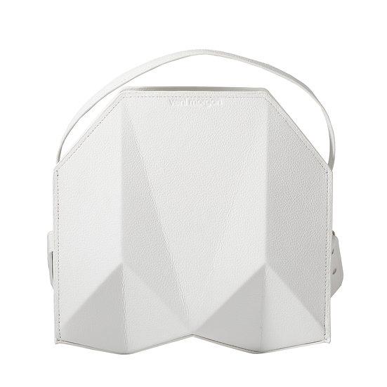 bako in bianco white leather