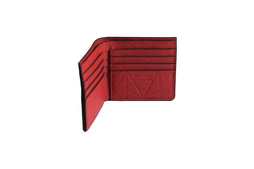 wallet 501 in red leather