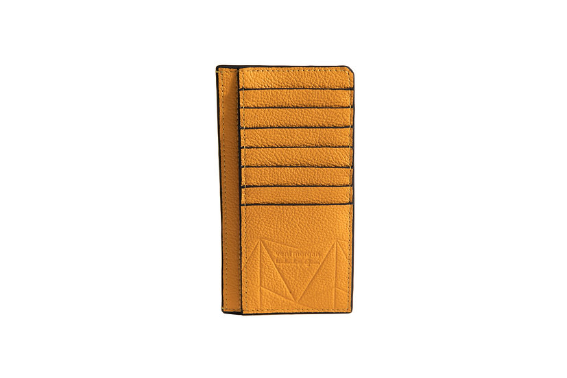 wallet 401 in yellow leather