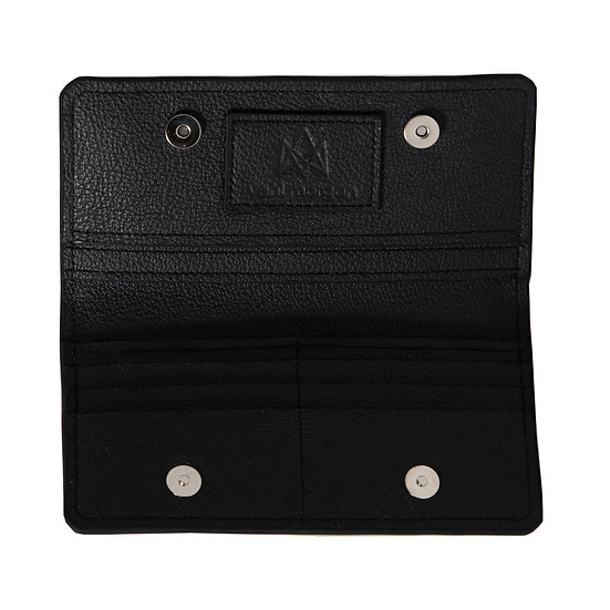 wallet 901 in black leather