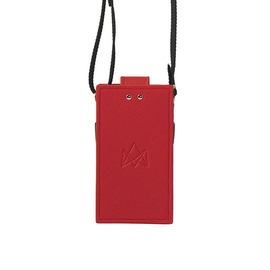 summer edition sport in red leather
