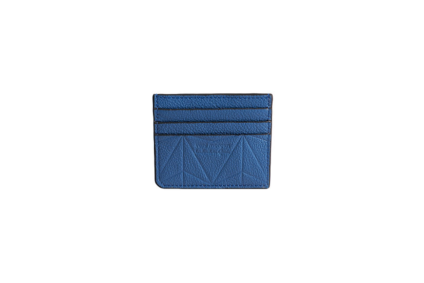 wallet 101 in blue leather