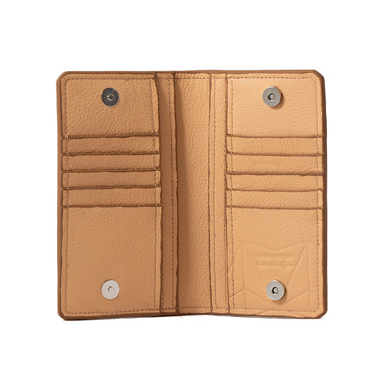 wallet 701 in sahara leather