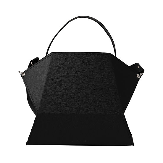 timo in nero black leather