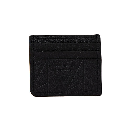 wallet 101 in nero leather
