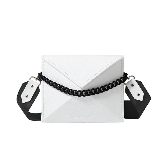 noshi in bianco leather (black edition)