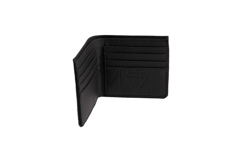 wallet 501 in black leather