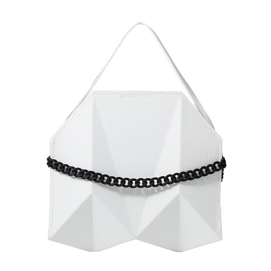 bako in bianco leather (black edition)