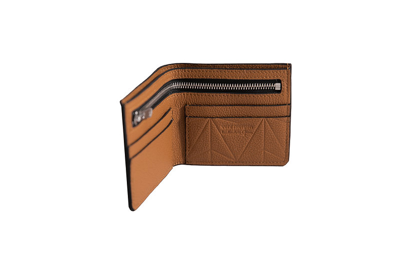 wallet 511 in brown leather