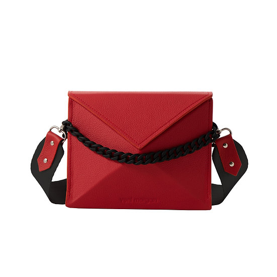 noshi in red leather (black edition)