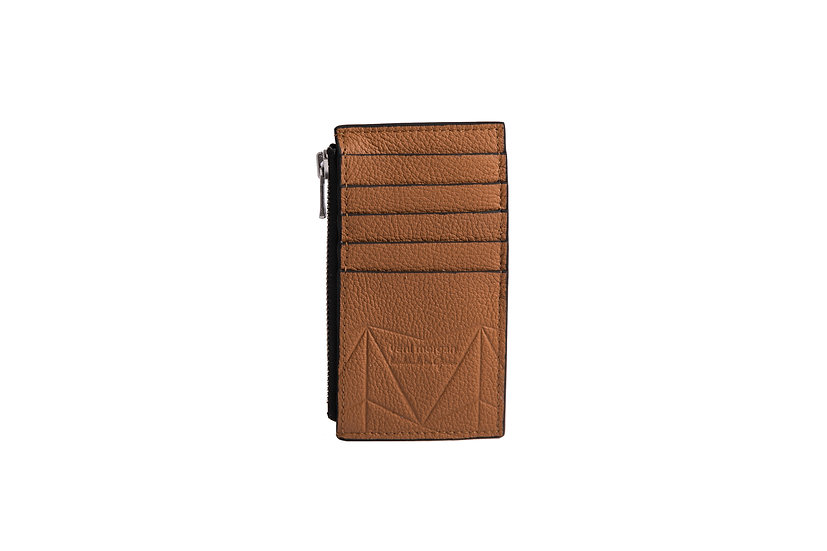 wallet 301 in brown leather