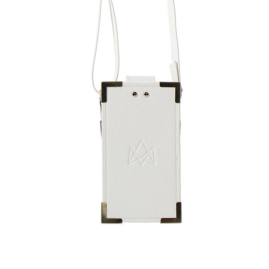 summer edition in bianco leather