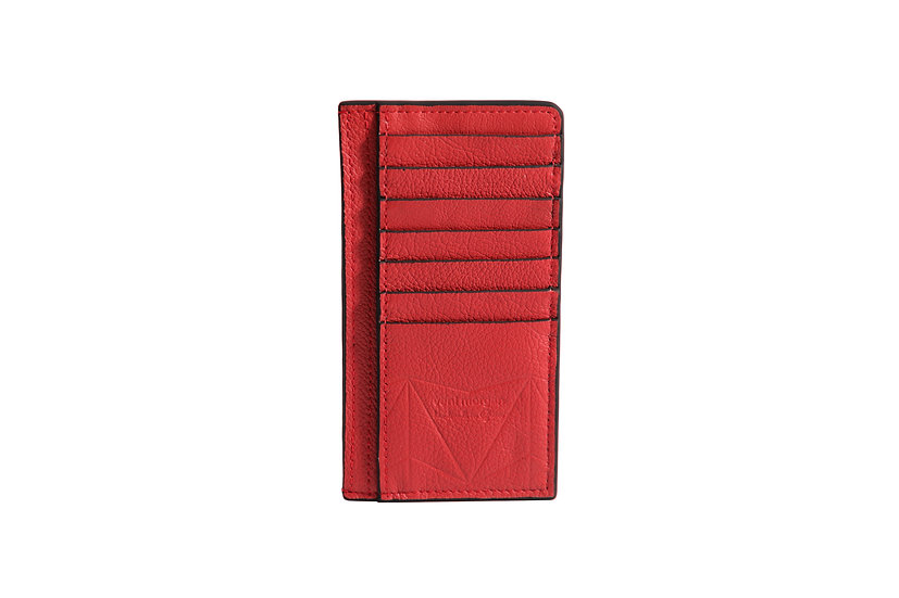 wallet 401 in red leather