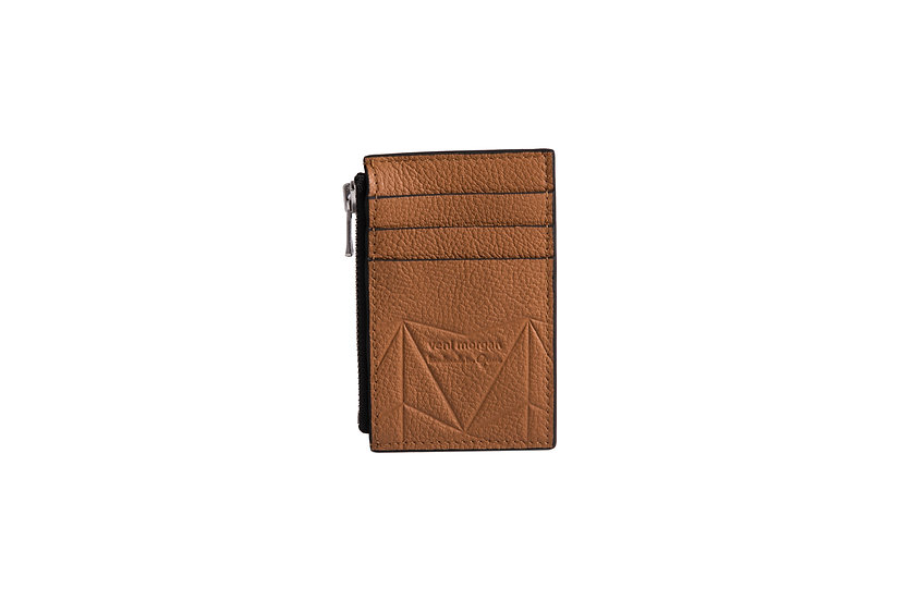 wallet 201 in brown leather