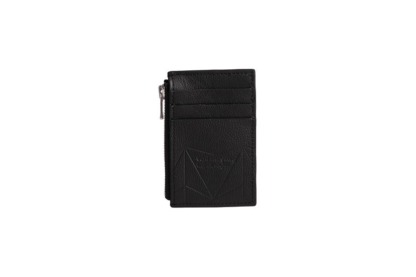 wallet 201 in black leather