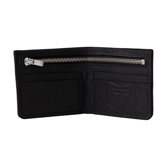 wallet 501 in nero leather