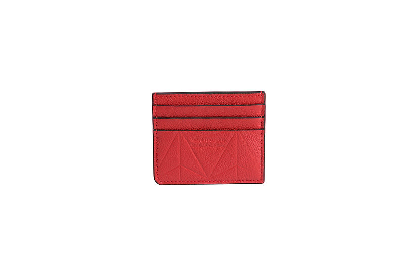 wallet 101 in red leather