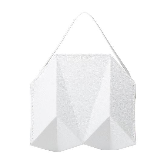 bako in bianco leather