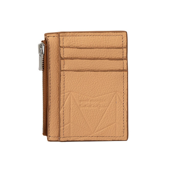 wallet 201 in sahara leather