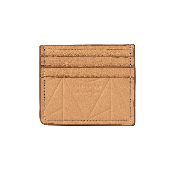 wallet 101 in sahara leather