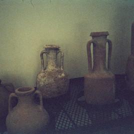 Amphores, musée départemental Arles antique, juillet 2020
