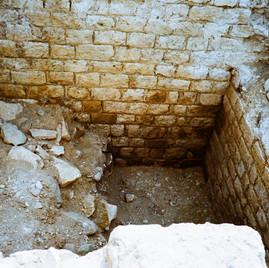 La Nautique (opus quadratum), fouilles Inrap, juillet 2020