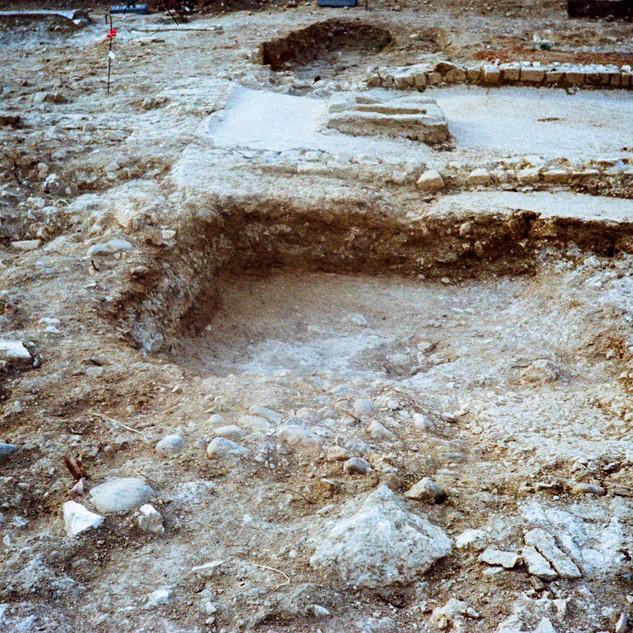 La Nautique, fouilles Inrap, juillet 2020