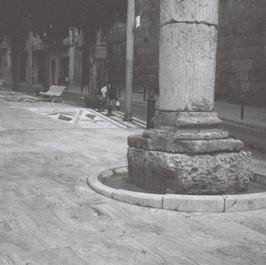 Colonne romaine, Tarragone, août 2014