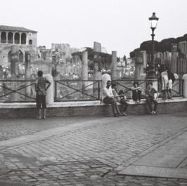 Forum de Trajan, Rome, été 2014