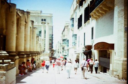 Malte, ruine du Théatre royal été 2017