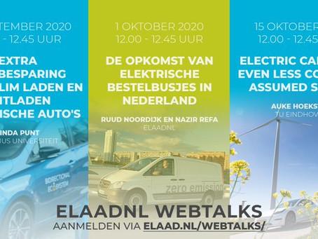 Сокращение выбросов CO2 за счет умной зарядки электромобилей – тема предстоящего вебинара