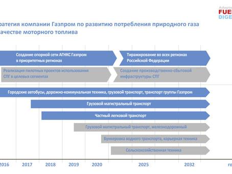 Текущая ситуация и перспективы газомоторного топлива в России