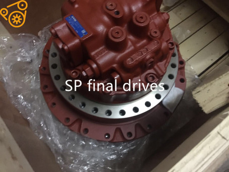 Talking about the hydraulic drive motor of crawler excavator