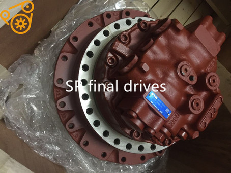 The hydraulic motor does not turn or crawl, what is the cause of oil leakage?