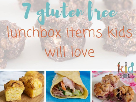 Gluten Free Lunchbox Items
