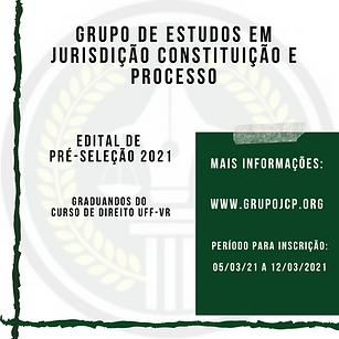 Grupo de Estudos em jurisdição constitui