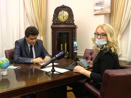 Интервью с мэром Екатеринбурга