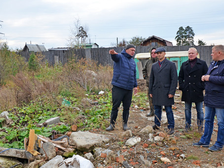 Роман Кравченко провел плановый объезд территории