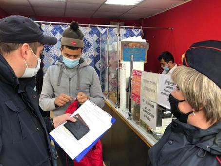 Масочный режим: в Орджоникидзевском продолжаются профилактические рейды