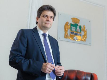 Александр Высокинский поздравил Екатеринбург с присвоением почетного звания«Город трудовой доблести»