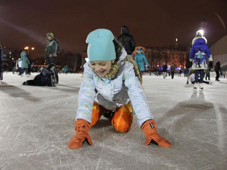 Площадки для катания на коньках в Орджоникидзевском районе