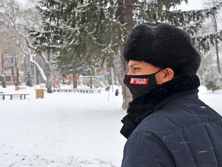 Объезд района: под контролем - уборка сквера на проспекте Орджоникидзе