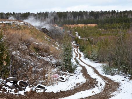 Ситуация остается стабильной: Роман Кравченко провел инспекцию мусорных полигонов