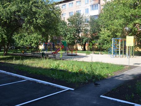 Формирование городской среды: работы по благоустройству придомовых территорий продолжаются
