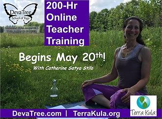 DevaTree ONLINE Yoga Teacher Training