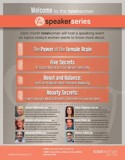 TW-Speaker Series Poster