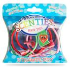 SCENTIES-strawberry hair ties