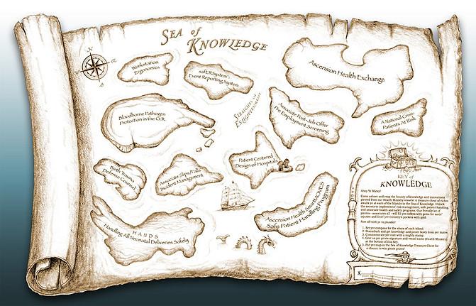 Ascension Treasure Map