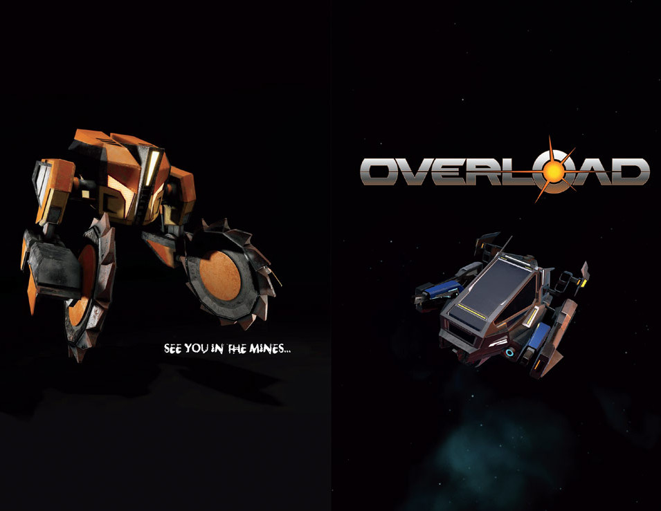 Overload DVD booklet spread