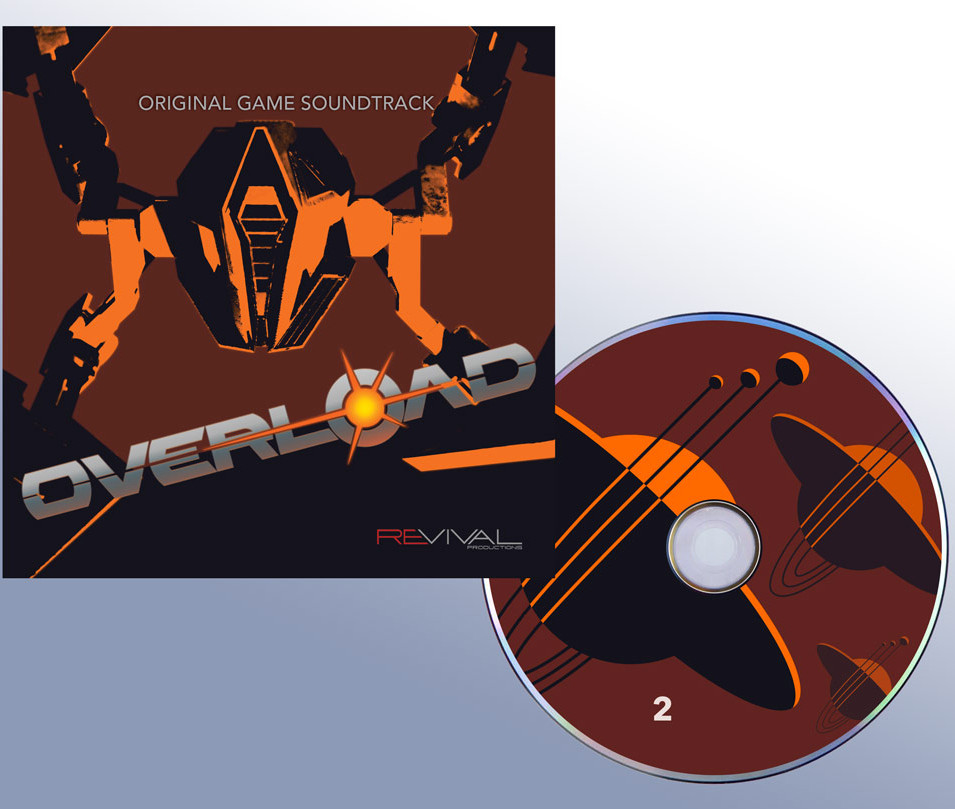 Overload CD cover and CD